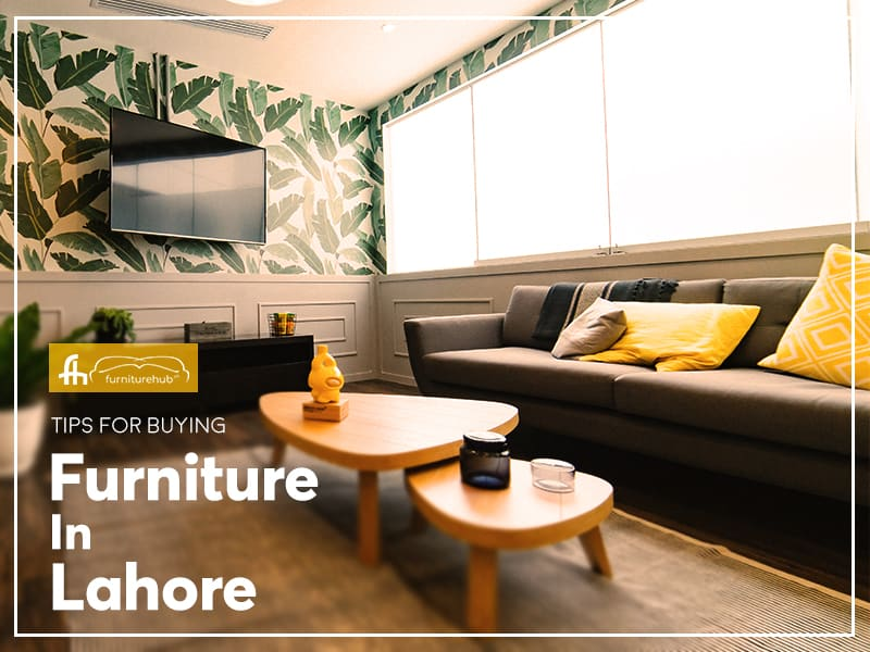 Tips for Buying Furniture Online in Lahore