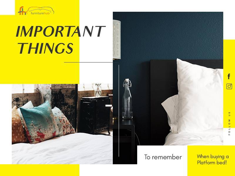 Important Things to Remember When Buying a Platform Bed