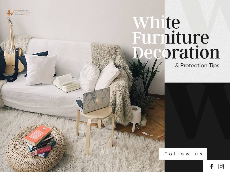 White Furniture Decoration and Protection Tips