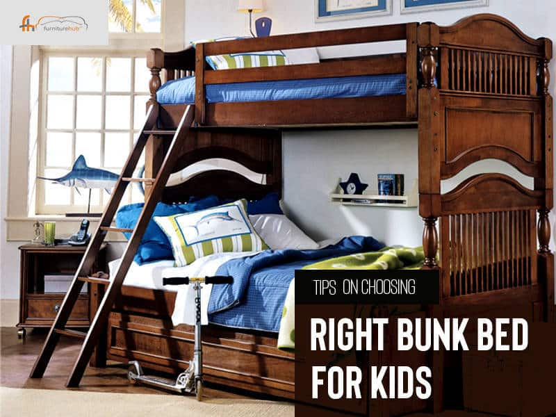 Tips on Choosing Right Bunk Bed for Your Kid