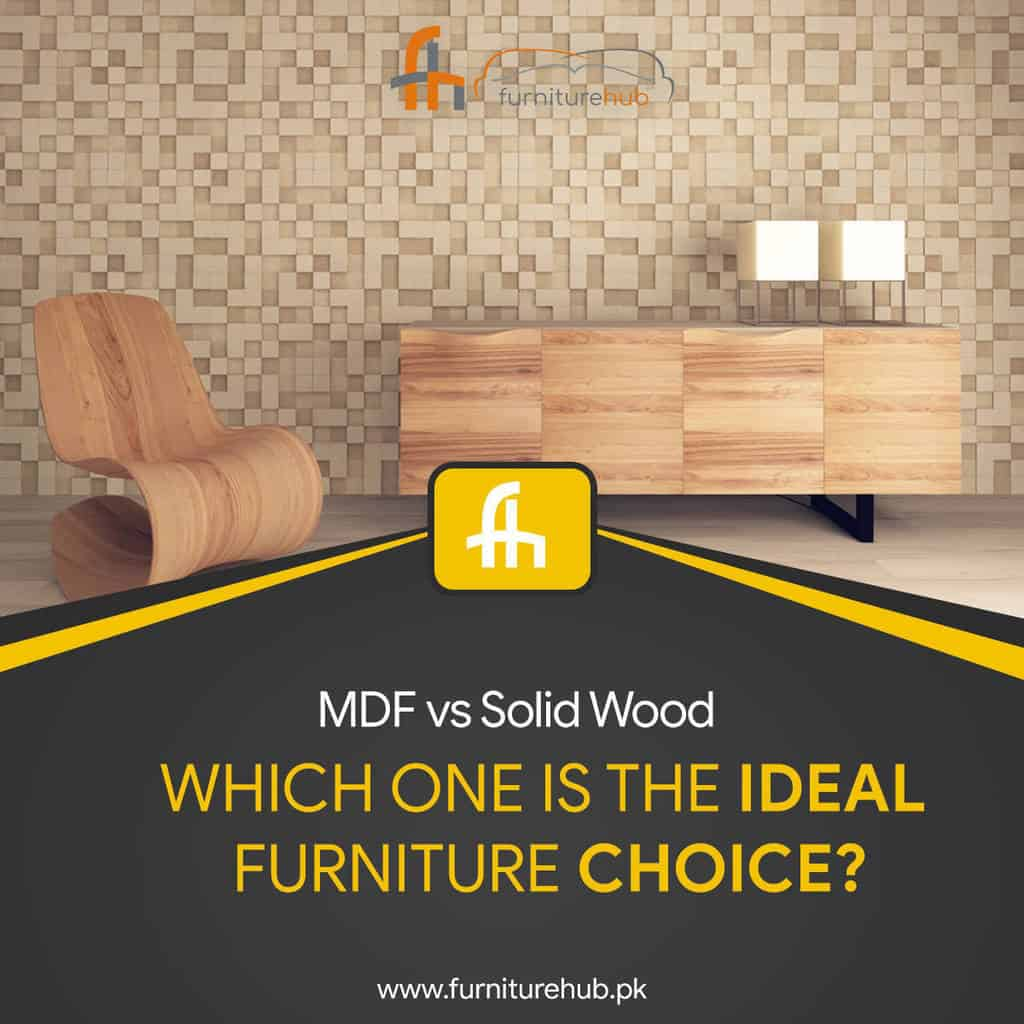 MDF vs Solid Wood – Which One Is The Ideal Furniture Choice?