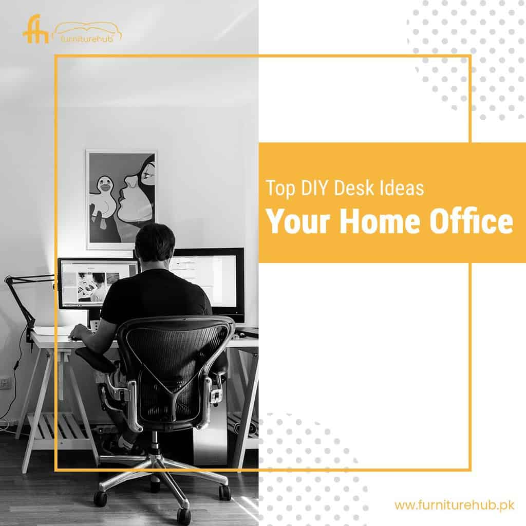 Top DIY Desk Ideas For Your Home Office