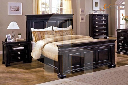 Buy FH-5881 5 Piece Bedroom Set | Espresso Online at ...