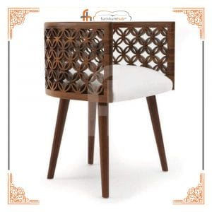 Lounge Chair In Brown Made With Stylish Wood Style For Your Home