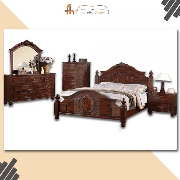 New Style Bed made With Sheesham Wood Avaiable On Sale