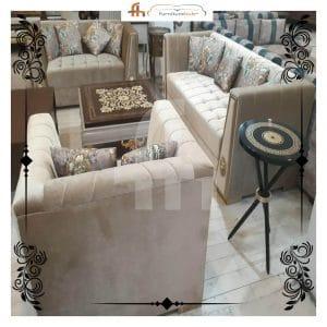 Luxury Sofa Set With Molty Foam Guarantee On Sale At Furniturehub.Pk