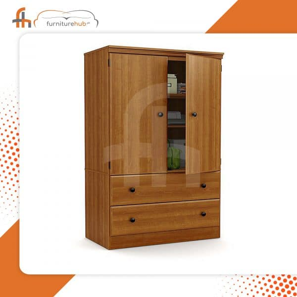 An Affordable Wardrobe In Wood Available On Sale At Furniturehub.Pk