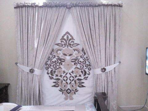 Luxury Designer Curtains In White Color Available On Sale At Furniturehub