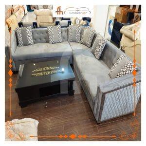 Diamond Sofa Sectional Set With Printed Cushions At Furniturehub.Pk
