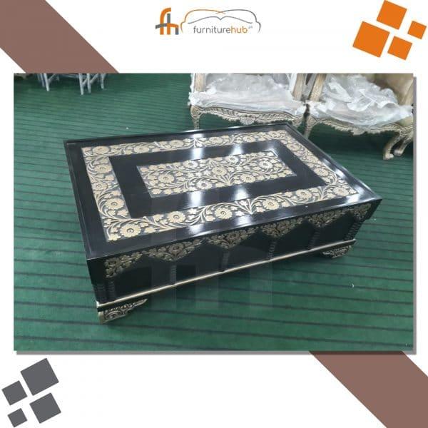 Black Center Table Luxury Design Available On Sale At Furniturehub.Pk