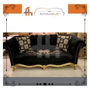 Black And Gold Sofa To Make You Experience Good Moments