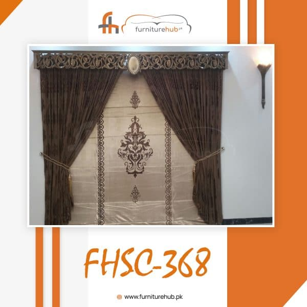 Curtain Design For Hall Available On Sale At Furniturehub.Pk