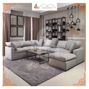 Grey L Shaped Couch On Sale For Your Comfort At Furniturehub.Pk