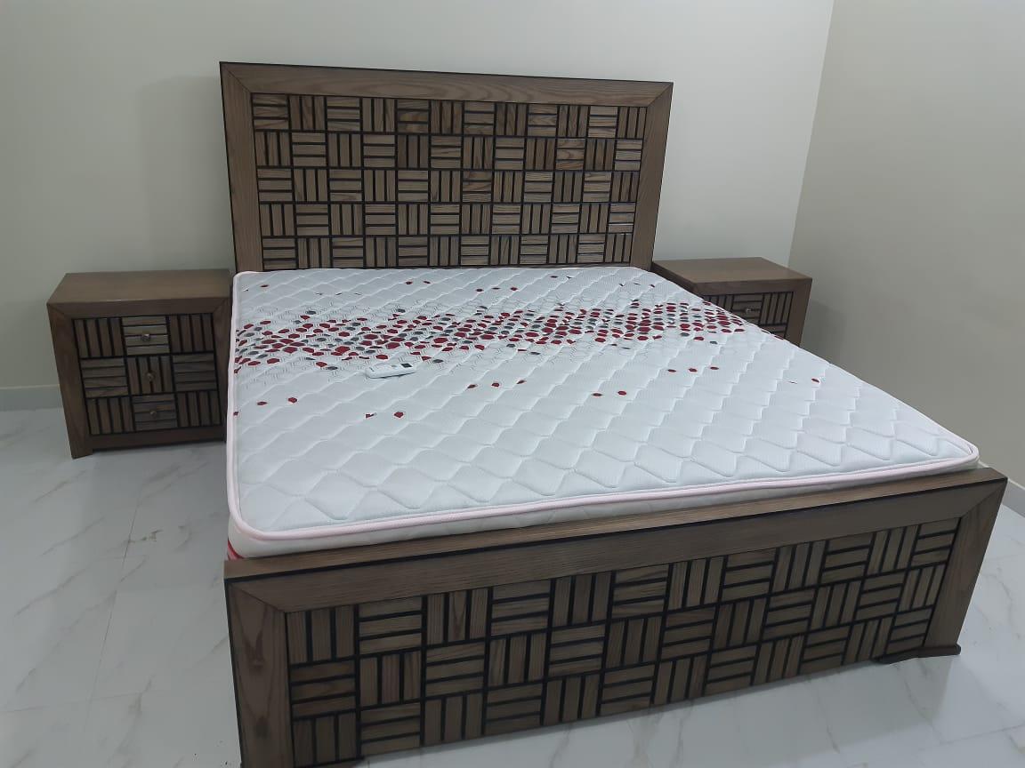 FH-1521 Basket Design Bed Set