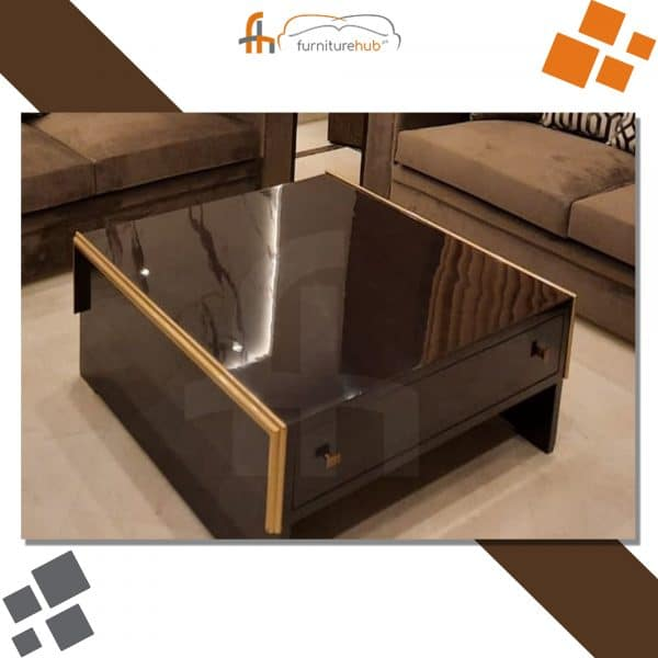 Brown Center Table For Your Living Room At Furniturehub.Pk