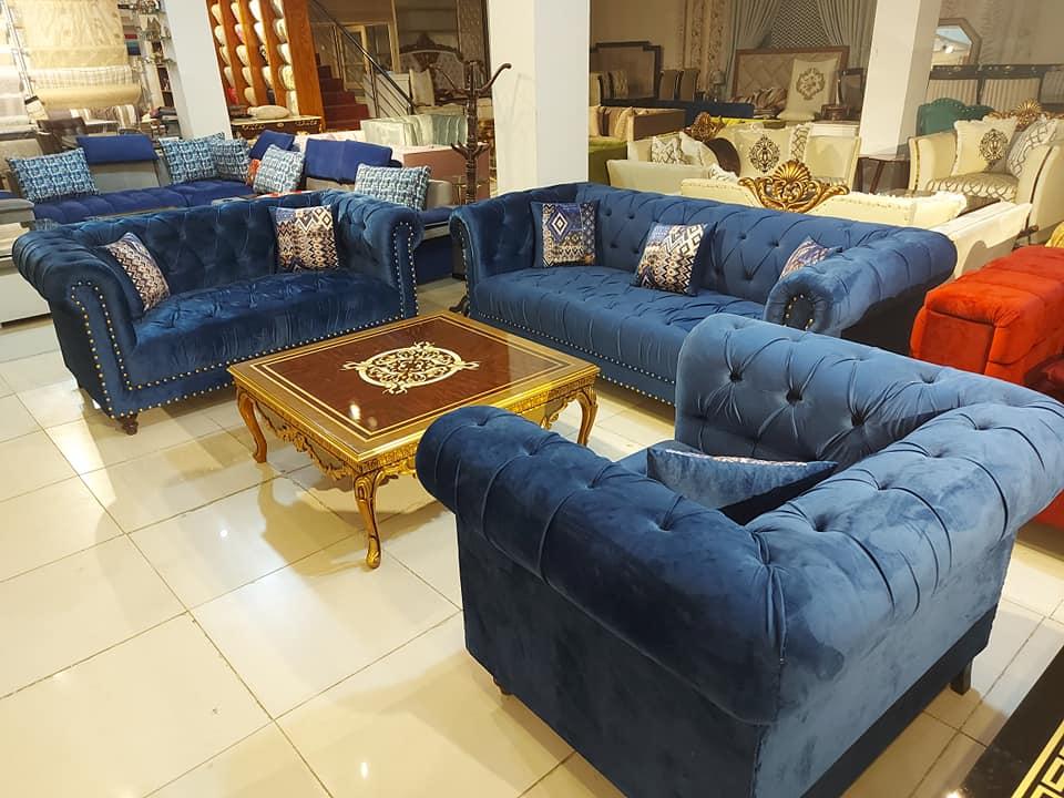 FH-1817-B Chesterfield Sofa Set