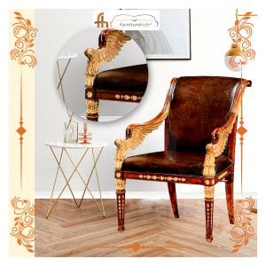 Wooden Chair Royal Castle Model Available On Sale At Furniturehub.Pk