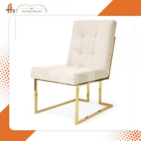 Brass Chairs For Sale In White Available On Sale At Furniturehub.Pk