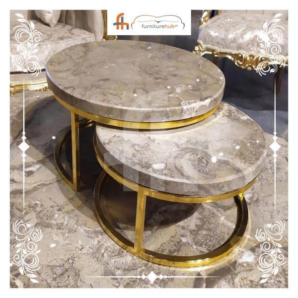 Marble Coffee Table Set Available On Sale At Furniturehub.Pk