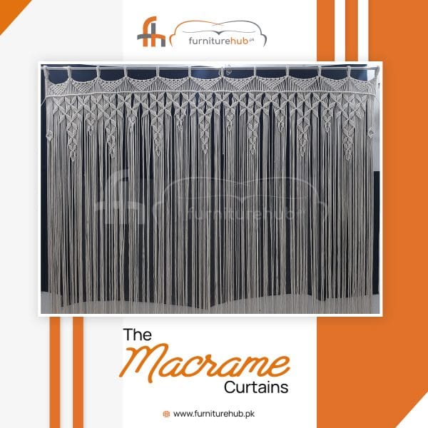 Macrame Hanging Curtain Stylish Design Available On Sale